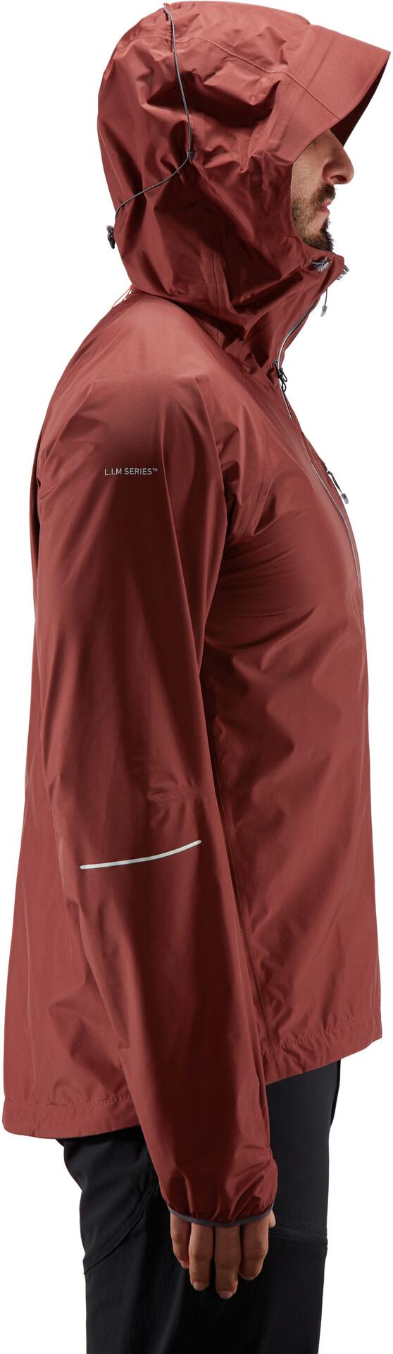 Haglöfs L.I.M Jacket Herren maroon red